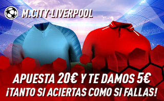 sportium Promo City vs Liverpool 3 enero