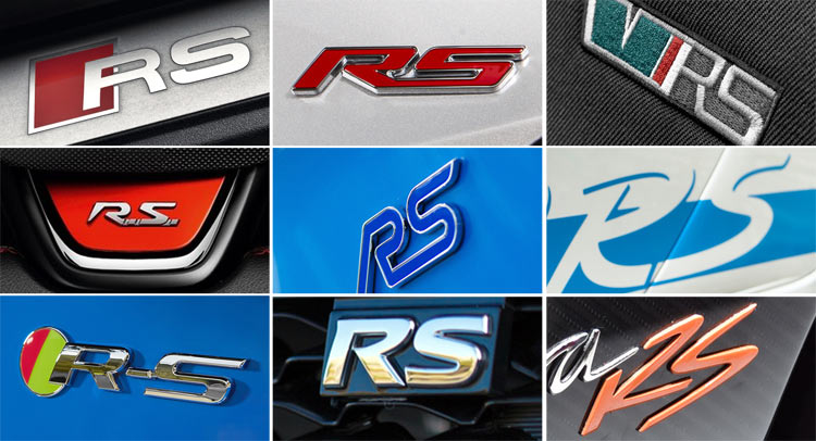What's In A Name? From Ford To Koenigsegg, Here's The RS Brigade