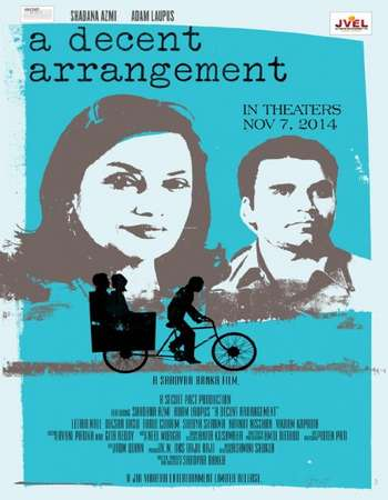 Poster Of A Decent Arrangement 2014 Hindi 300MB WEBRip 576p ESubs Watch Online Free Download Worldfree4u