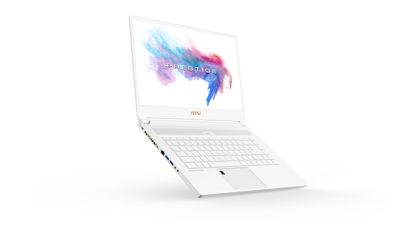 MSI P65 Creator in White