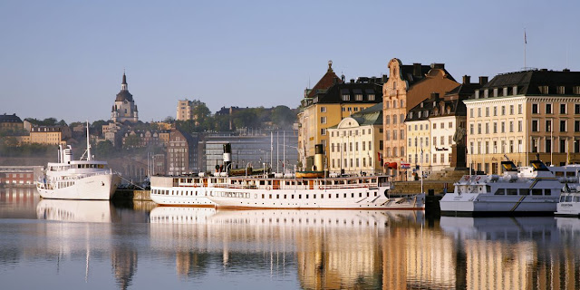 The Gamla Stan or the Old Town, is where Stockholm was founded in 1252