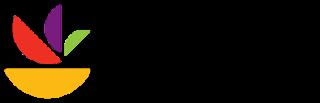Logo Polos Setengah Lingkarang warna warni