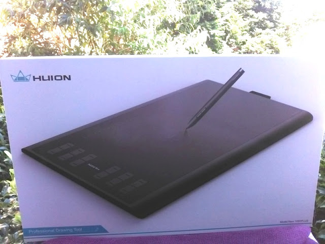 Huion 1060 Summation Drawing Graphics Tablet Alongside Wireless Graphics Pen!