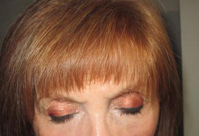Imagen Look Chocolate Orange 1 ojos cerrados