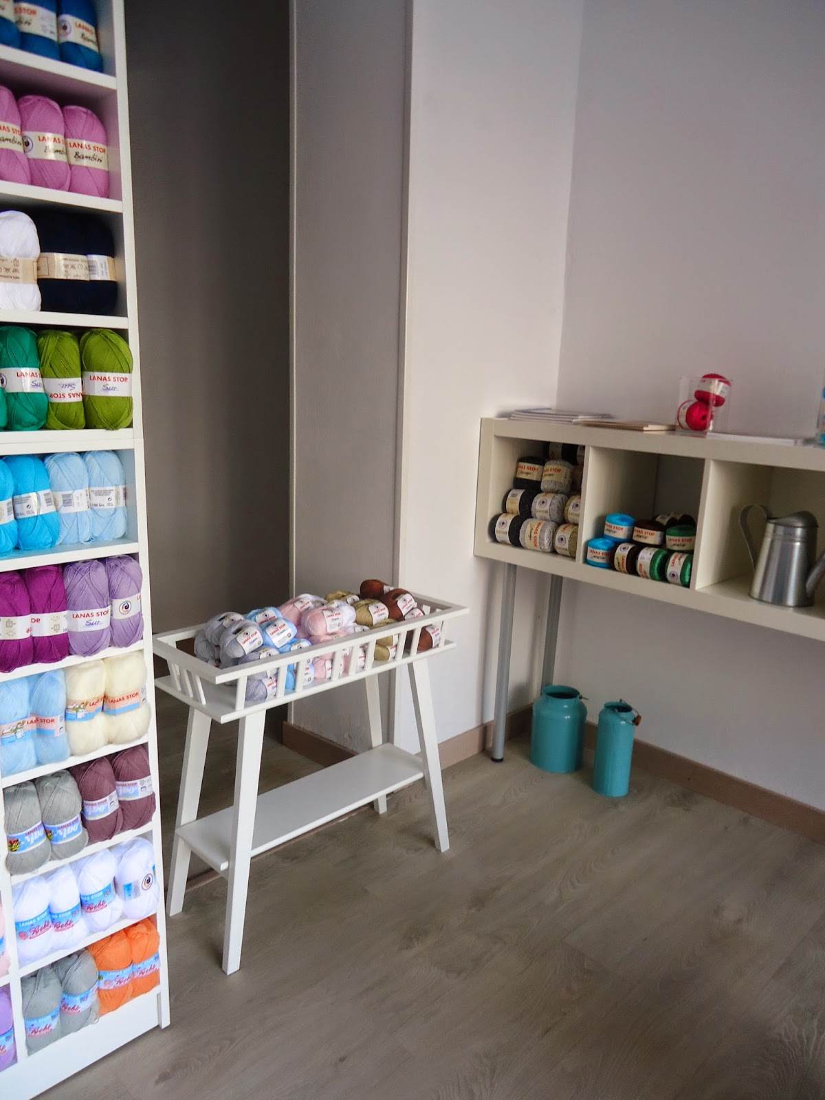L de Lana, lana, labores,Knitting, Tejer