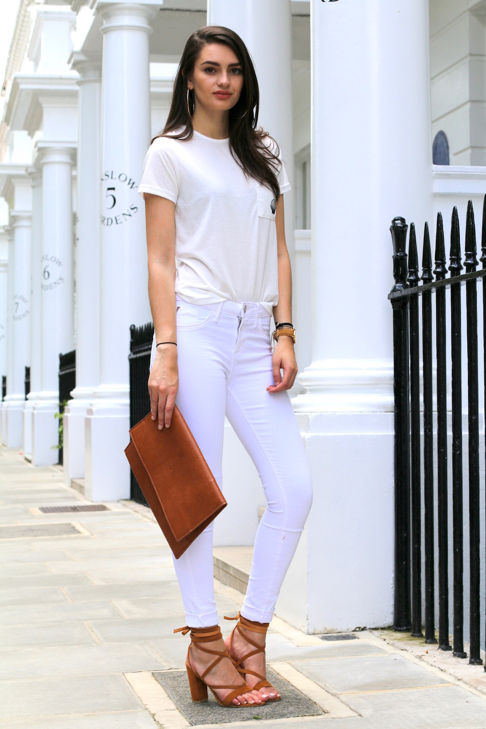 street style london all white
