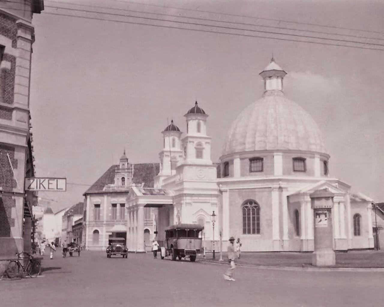 Gereja Blenduk Kota Lama