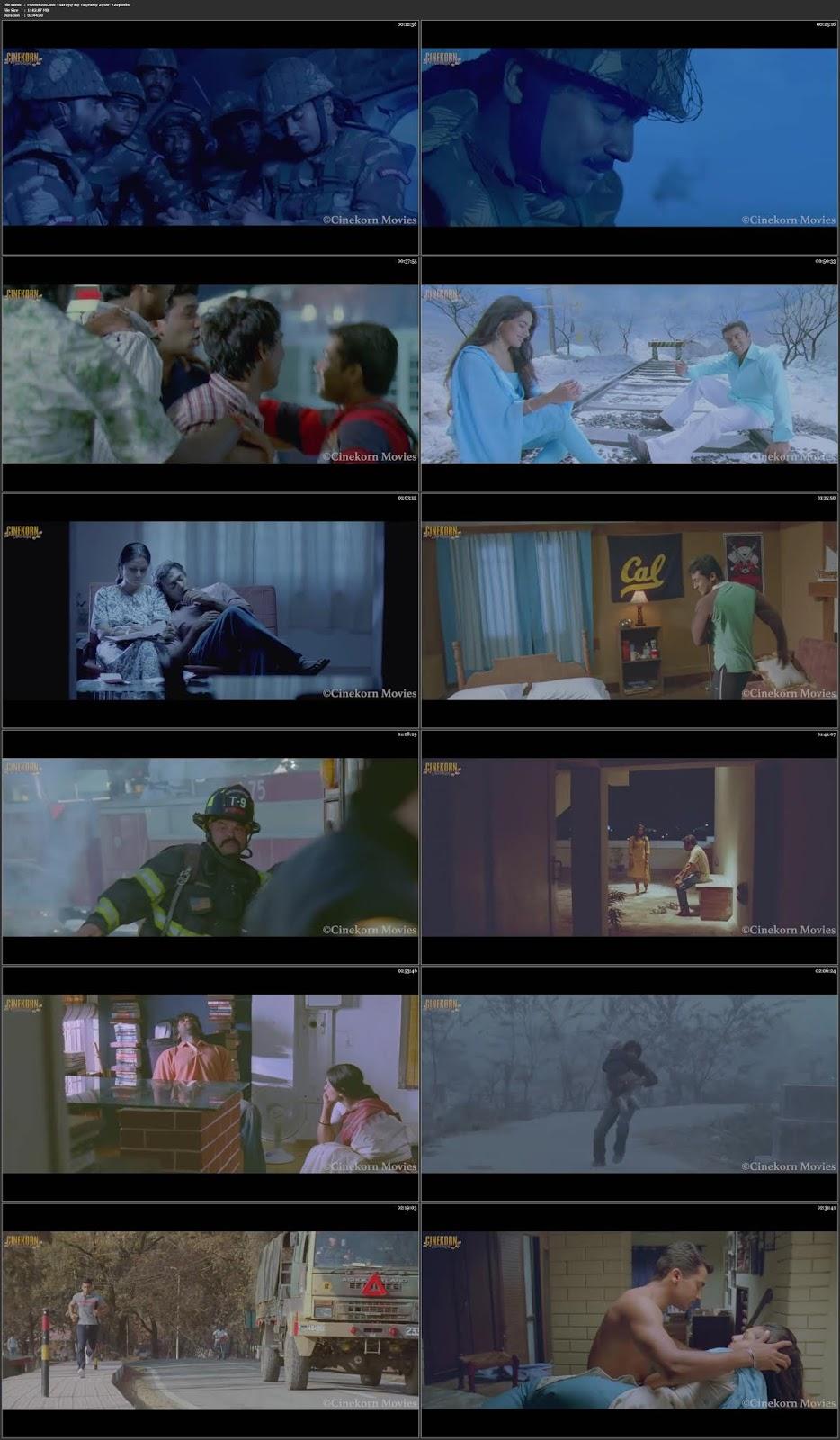 Surya Ka Yaarana Vaaranam Aayiram 2008 Hindi Dubbed HDRip 720p