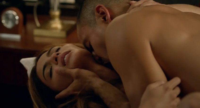 The Escort 2016 Regal Films sexy adult-themed drama featuring Lovi Poe and Derek Ramsay hot, steamy, and sexy love scene sex scene