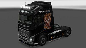 Tiger skin for Volvo 2012