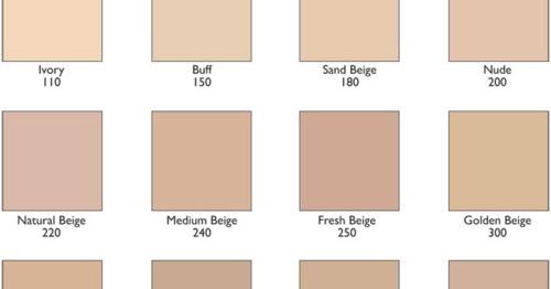 Corrector Makeup Revlon Colorstay Foundation Shades Chart