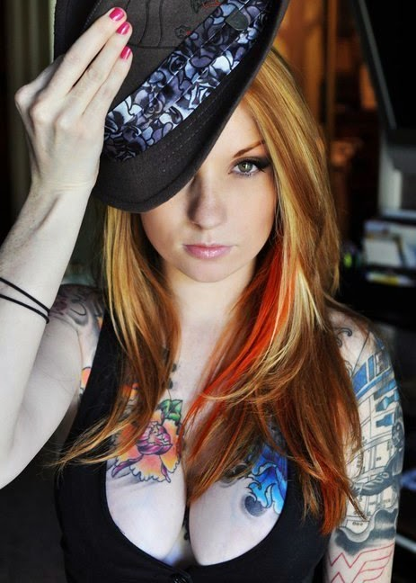 Kemper Suicide - Sexy Tattoo Models