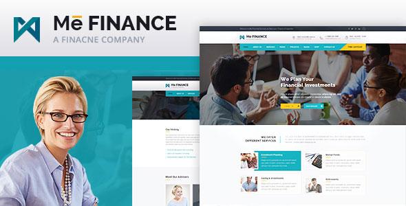 Me Finance v1.0 – Business and Finance HTML Template