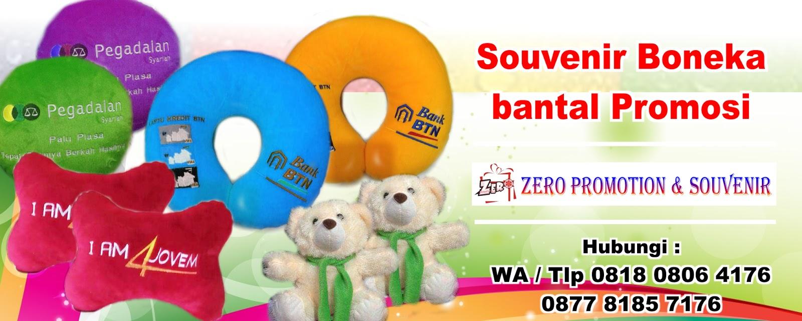 Souvenir Boneka   bantal Promosi 32286e85f3