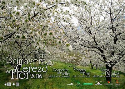 PROGRAMACIÓN COMPLETA. Primavera y Cerezo en Flor 2016