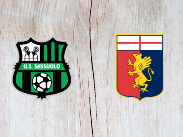 Sassuolo vs Genoa - Highlights 02 September 2018