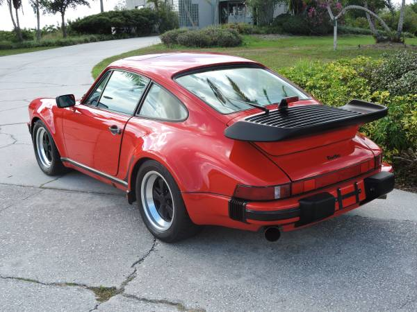 Original 1987 Porsche 911 Turbo Buy Classic Volks