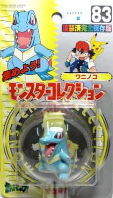 Totodile figure Tomy Monster Collection series