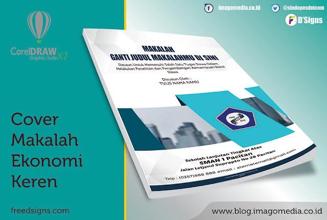 Contoh Cover Makalah Ekonomi Keren