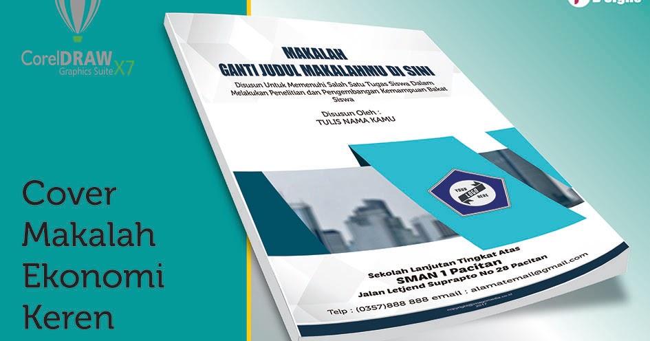 Contoh Cover Makalah Ekonomi Keren | Imago Media