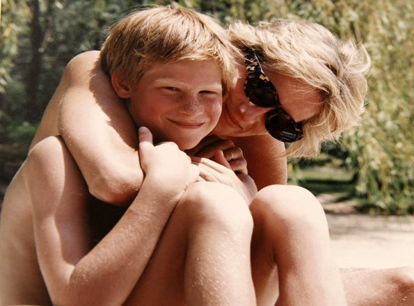 Prince William and Prince Harry, Diana, our Mother: Her Life and Legacy. Princess Diana of Wales. ITV TV documentary film