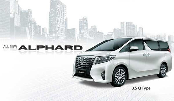 all new toyota alphard surabaya