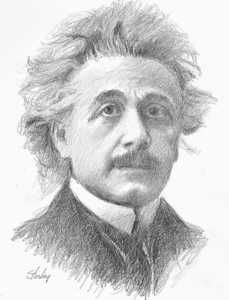 Amable Sterling - Albert Einstein Sketches