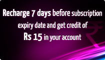 Videocon D2H Recharge Offer for 15 Rs.
