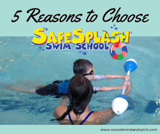 5 Reasons to Choose SafeSplash Swim School for your child