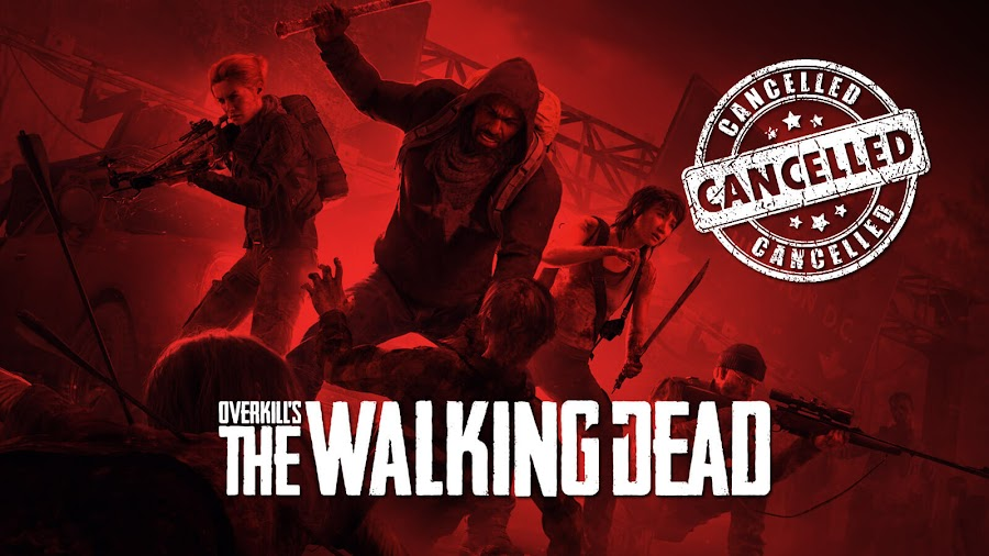 overkill's walking dead cancelled skybound