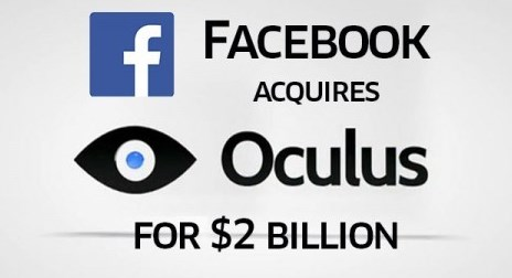 facebook buys oculus vr for 2 billion