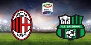 مباشر مشاهدة مباراة ميلان وساسولو بث مباشر 8-4-2018 الدوري الايطالي يوتيوب بدون تقطيع