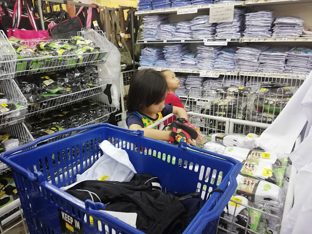 Siap Beli Baju Sekolah TABIKA KEMAS Anak-anak