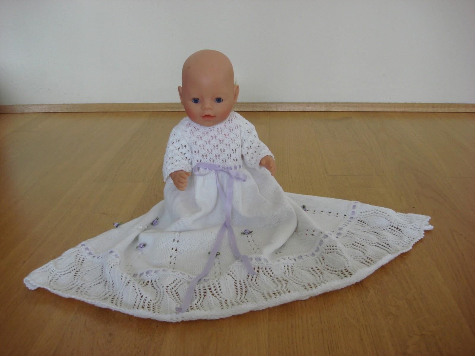 Sannes Fruerstue: Dåbskjole til baby born