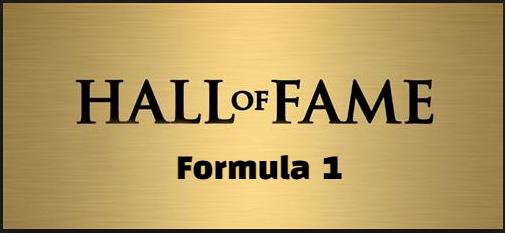 Formula 1,  hof, Hall of Fame, Inductees,  Members, F1 World Champions.