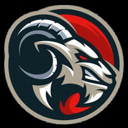 logo kambing dalam lingkaran