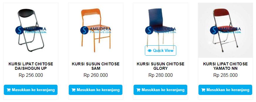 Harga Kursi Chitose Bandung