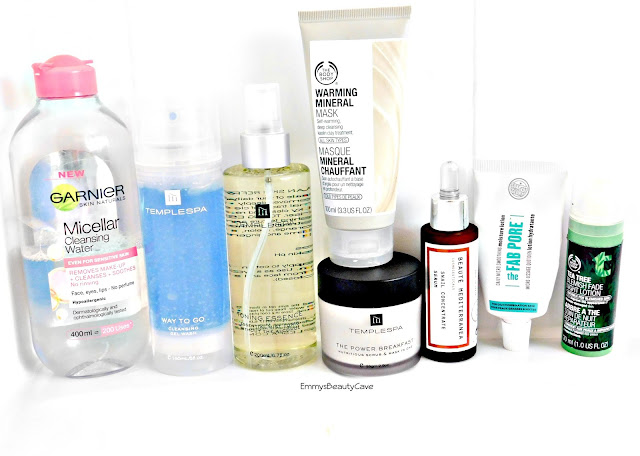 Evening skincare routine, evening skincare for oily skin, affordable skincare, skincare routine for combination skin
