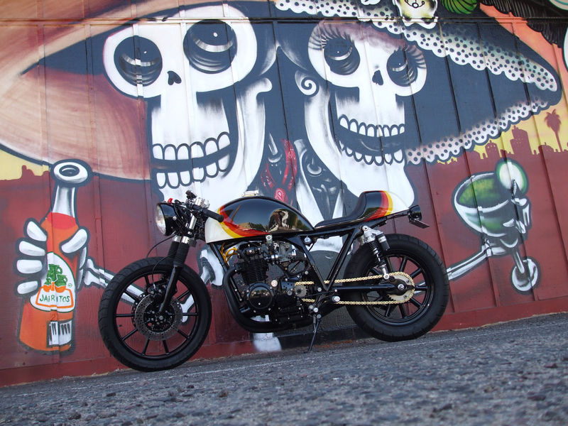 honda cb500 cafe racer for sale ~ return of the cafe racers