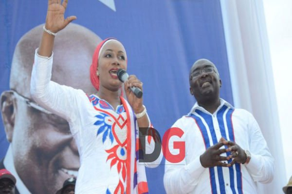 Remember your suffering when you vote on Wednesday- Mrs. Bawumia