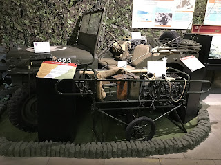 A Willy's jeep from the D-Day period