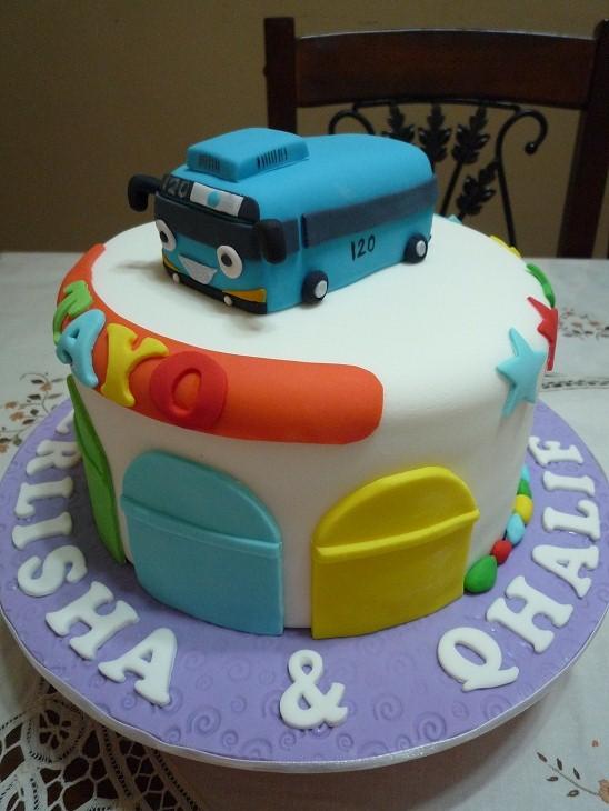 Gg Home Biz Cakes Amp Wedding Cakes Tayo Birthday Cake