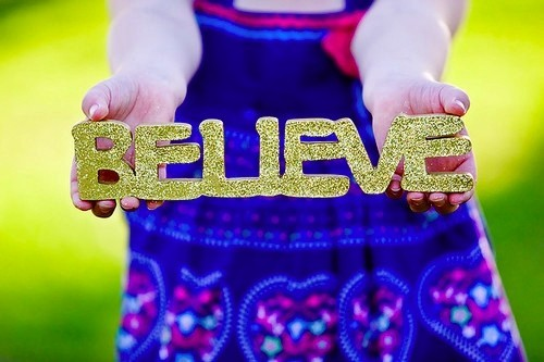 Nosso Cantinho: Eu Acredito