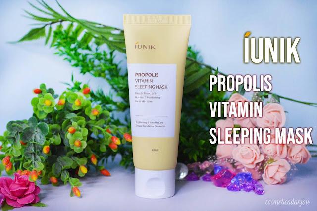 IUNIK Propolis Vitamin Sleeping Mask