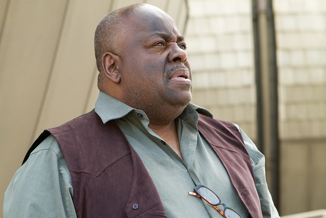 Reginald VelJohnson looking up. Easter.