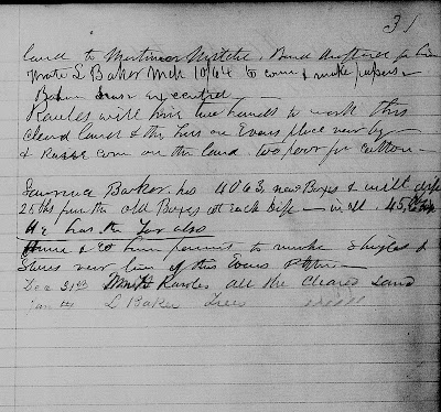 Amanuensis Monday: Mortimer Mitchell Mentioned In Freedmen's Bureau Land and Property Records--How Did I Get Here? My Amazing Genealogy Journey