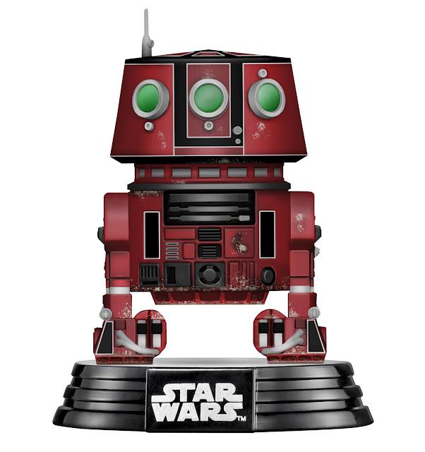 Funko R5 Unit POP Star Wars Galaxy's Edge Target Merchandise