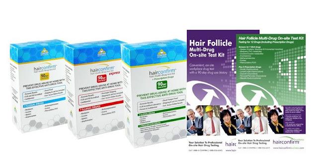 HairConfirm Hair Follicle Drug Testing Kit