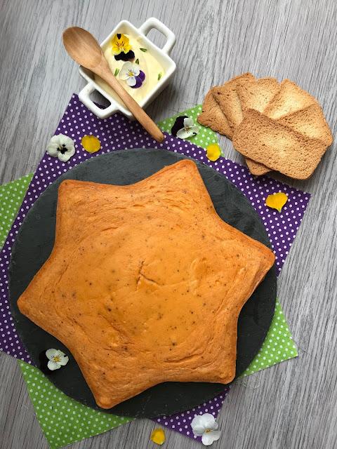 pastel de salmón ahumado en el microondas receta
