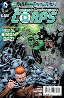 Green Lantern Corps #16 Cover